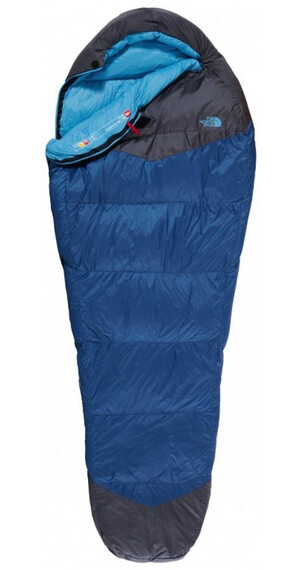 The North Face Blue Kazoo Sleeping Bag Reg ensign blue/asphalt grey